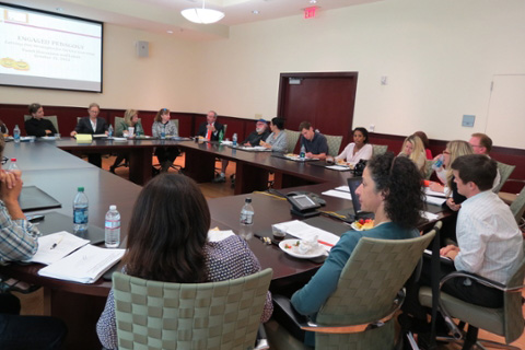 Photo of 2013 Engaged Faculty Fellows Workshop