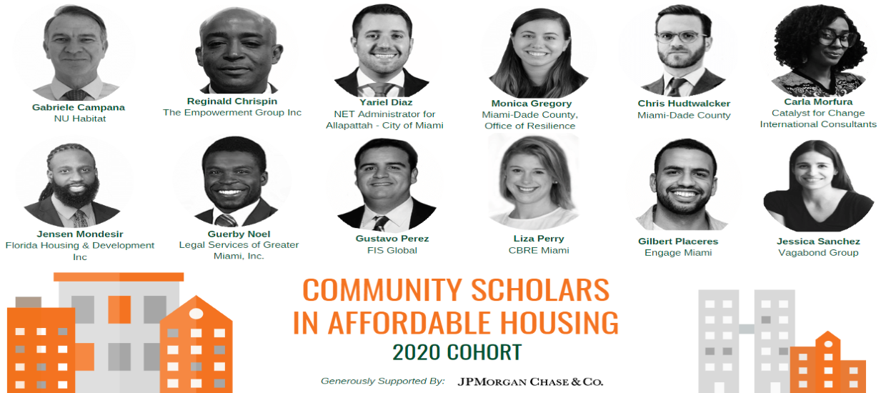 Community Scholars in Affordable Housing 2020 Cohort Announcement_large.png