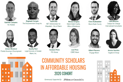 Community Scholars in Affordable Housing 2020 Cohort Announcement_small.png